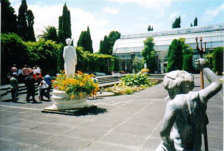 Jardins do Auckland Domain