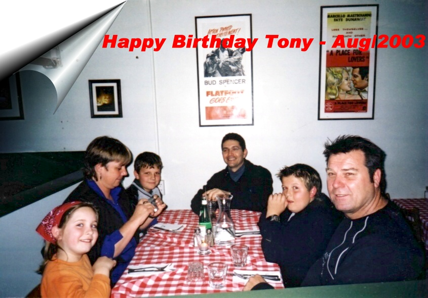 Aniversario do Tony